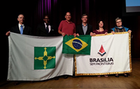 Professor Buntman at Brasilia Without Borders, second from right