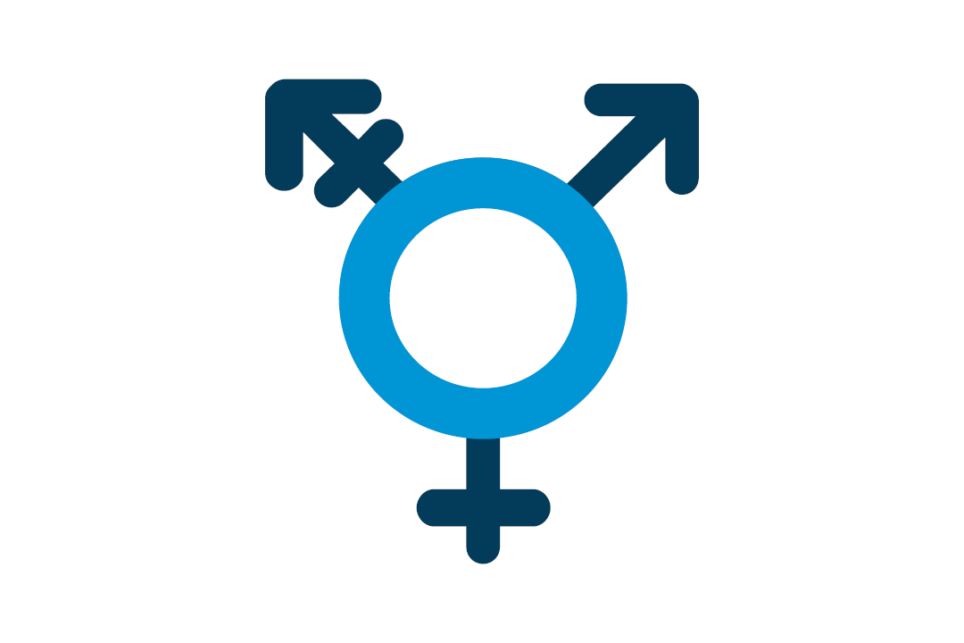 Icon of gender circles